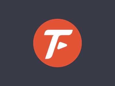 Transfreight Logo Mark Proposal logo monogram trucking logistic planning management circle arrow