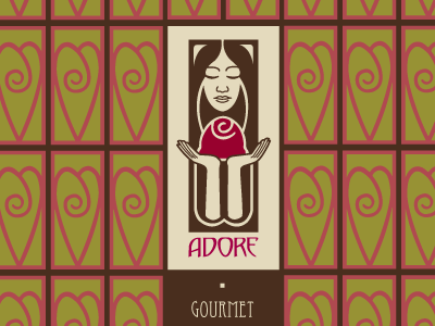 Adore chocolate box