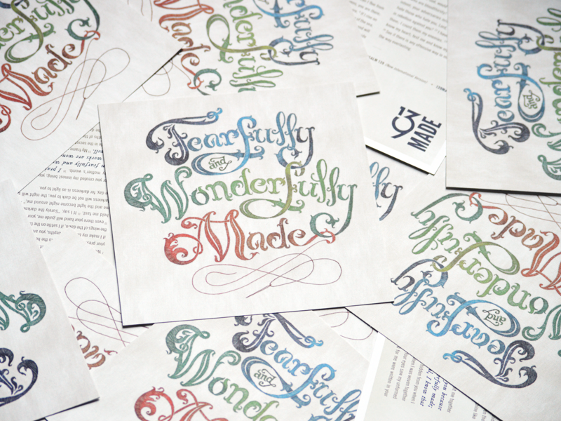 Postcards postcard print apparel typography hand-drawn