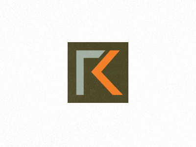 Rick Krug Identity WIP2 initials monogram career coach motivational speaker
