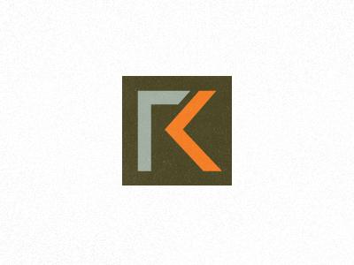 Rick Krug Identity WIP2 initials monogram career coach motivational speaker
