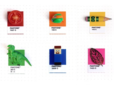 Tiny PMS Match Upcoming Book tiny pms match personal project pantone colorful cute book