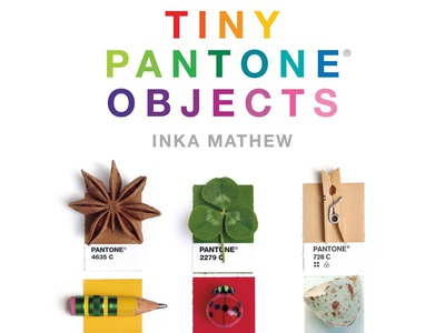 Tiny Pantone Objects Book (Pre-Order) photography personal project book