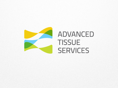 Advanced Tissue Services Logo (Option) skin tissue sample research medical layers transparent logo