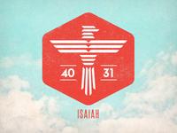 Isaiah 40:31 Logo