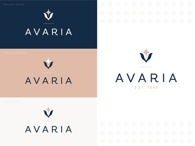 Avaria Logo Design logo design branding logo branding design branding candle logo design