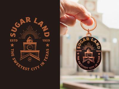 Sugar Land Badge Design & Keychain