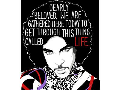 Prince illustration musics legend black excellence black history month prince
