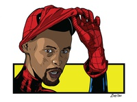 Miles Morales 'Spiderman/Steph Curry Mashup