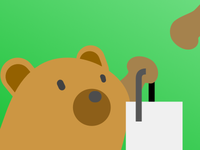 Cravee Logo bear logo