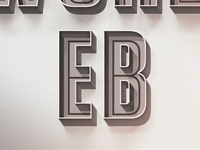 lettering project