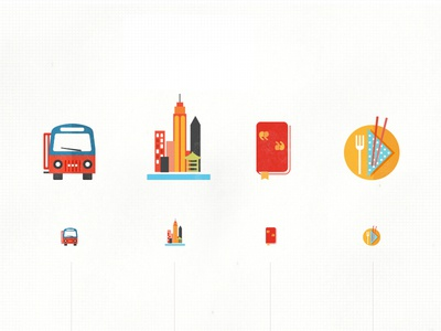 Int'l travel icons in the works