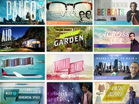 Airbnb Wishlists banners