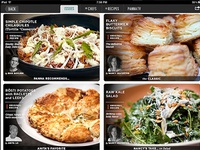 Video cooking magazine for iPad