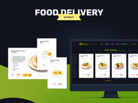 EcoOk - Food Delivery (Product page)