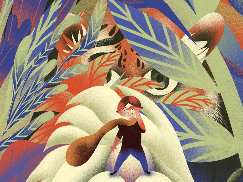 illustration for calendar concept book art illustrator digitalart painting photoshop design character illustration