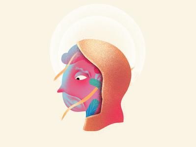 Holy concept illustrator art digitalart character illustration