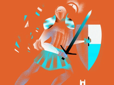 knight illustration man concept illustrator drawing digitalart art painting character illustration