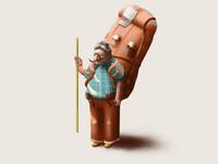 Old traveler