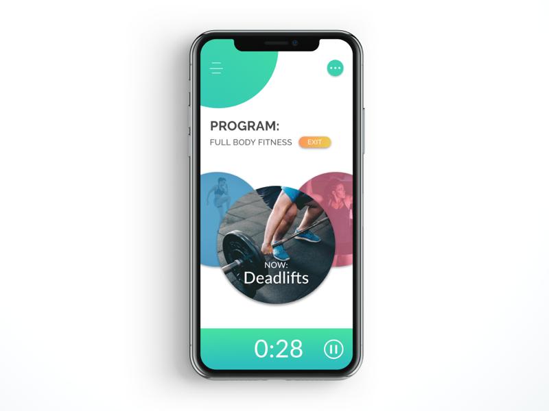 Countdown Timer - DailyUI #014 fitness-app timer countdown-timer mobile-app-design dribbble ux-designer ui-design design daily-ui-challenge daily-ui