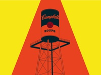 #5 - Campbell's Soup Company Water Tower
