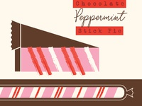 New Flavor: Chocolate Peppermint Stick Pie