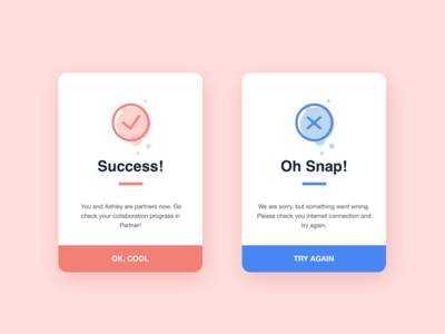 Daily UI Challenge #03 - Flash Message