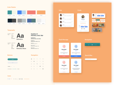 Daily UI Challenge #06 - Style Guide