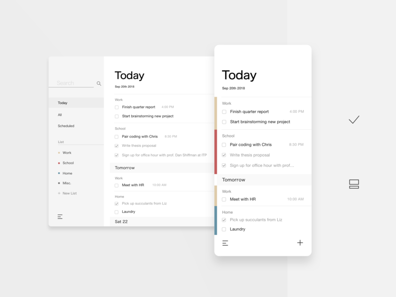 TooDoo design app ux ui gtd task manager task to-do list to-do todo
