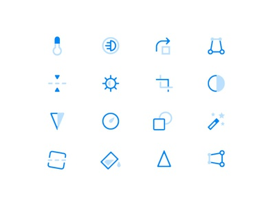 Free Photo Edit Icons set iconset uiux symbol vector iconography ui iconfree outline clean freebie free icons