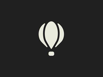 Lift Logo Mark of a Hot Air Balloon daily logo challenge logo design graphics illustrator brand graphic design logo design branding action sports logo brand designer branddesign branding logo logos hot air balloon logo mark