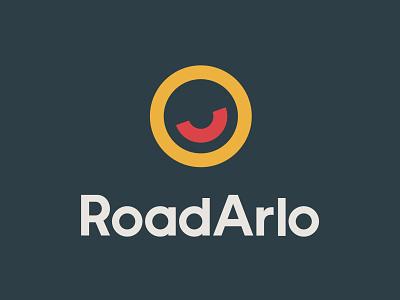 RoadArlo smiley face friendly wordmark happy smile logo smile brand logos logo design logo