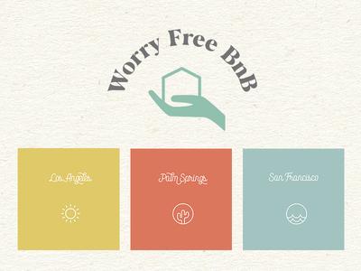 Worry Free vector illustrator logos logo graphics branding brand logo design graphic design