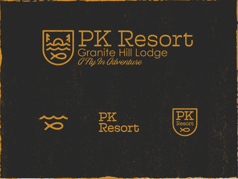 PK Resort Logo Design logo design graphics design logos branding logo brand graphic design