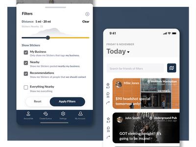 Eureca App Interface Design mobile app design mobile app mobile ui ux branding brand ui graphic design