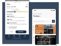 Eureca App Interface Design