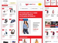 WP radarOkazji  - e-commerce design - mobile