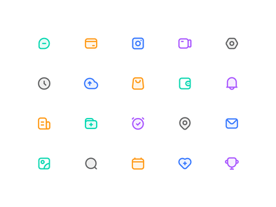 Icons design 设计 图标 ui 简单