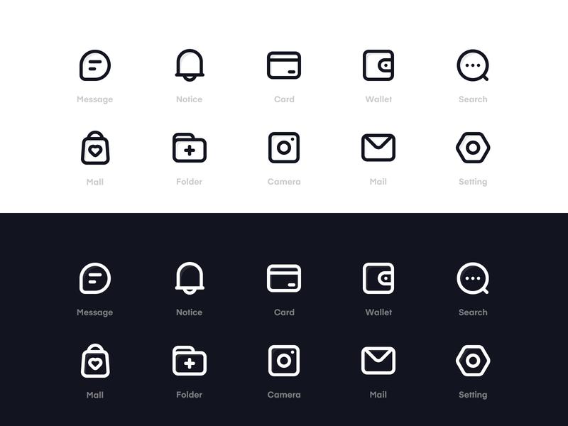 Icon Design 设计 简单 图标