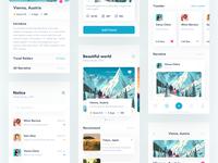 Travel Sharing App 设计 应用 ui 简单 share travel