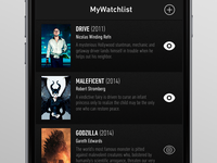 MyWatchlist App - movies list