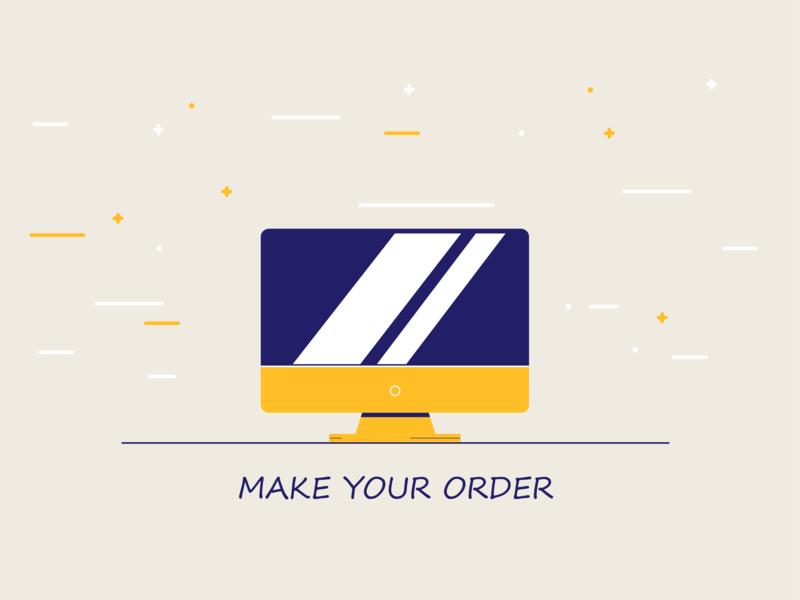 Make your order! 2d lines screen pc illustrator shapes