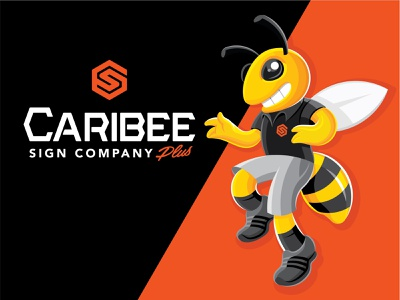 Bee Company Mascot Design graphic designer friendly branding mo missouri st. louis designer bee design character logo mascot