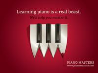 Piano Master Ad