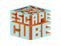 Escape Cube Isometric 3D Mark - Color Variation