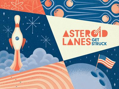 Asteroid Lanes - Visual Identity #2