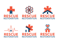 Rescue Restoration - Logo Design Concepts