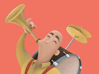 One Man Band - Detail