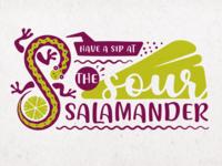 The Sour Salamander - Logo Design