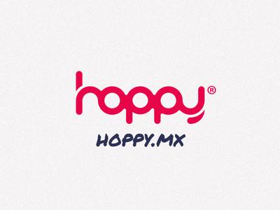 Hoppy Logotype hoppy logo